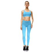 Baby Blue PerformX Sports Set - Lotus Leggings