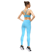 Baby Blue PerformX Leggings - Lotus Leggings