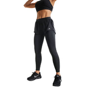 BLACKOUT SHORTS FIT COMPRESSION LEGGINGS COMBO