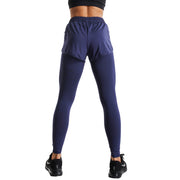 OCEAN SHORTS ATHLETIC LEGGINGS COMBO
