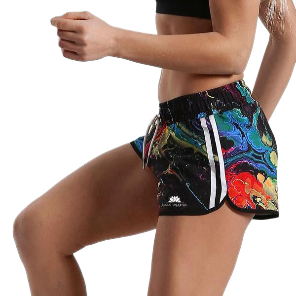 FICTIONAL REFLECTIONS RUNNING SHORTS
