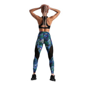 FUNKY JUNGLE LOTUSFLASH LEGGINGS