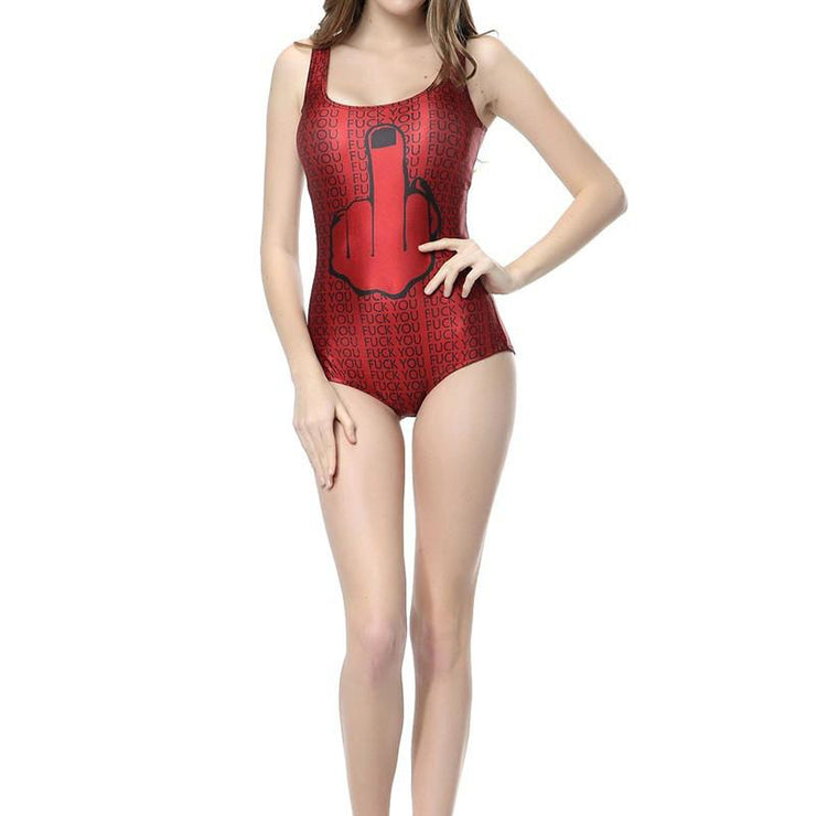 F.YOU ONE PIECE SWIMSUIT - Lotus Leggings