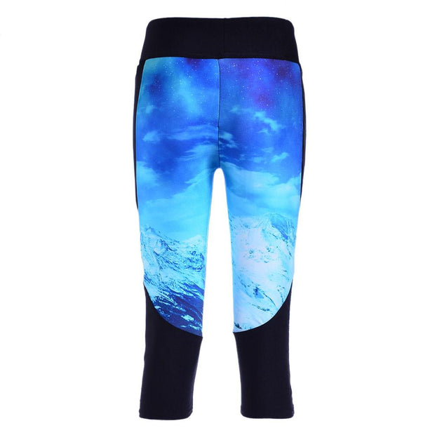 GLACIER ATHLETIC CAPRI - Lotus Leggings