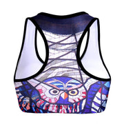 GLASS OWL SPORTS BRA - Lotus Leggings