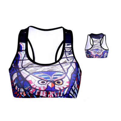 GLASS OWL SPORTS BRA