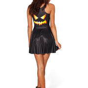 JACK O' LANTERN SKATER DRESS - Lotus Leggings