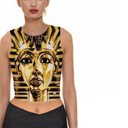 KING TUT CROP TOP