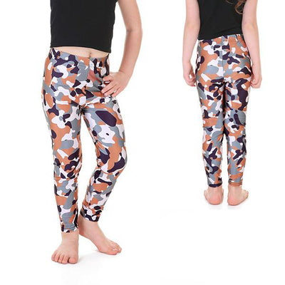 KID'S CAMO LEGGINGS