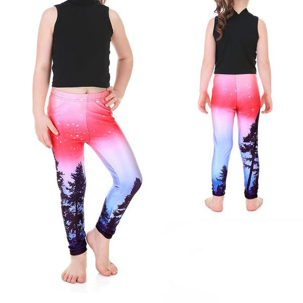 KID'S ENCHANTED FOREST LEGGINGS