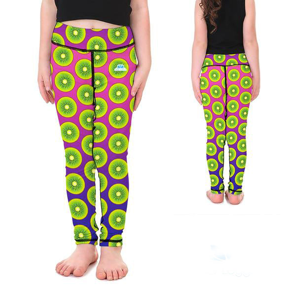 KID'S LOTUSX™ KIWI KRAZE LEGGINGS