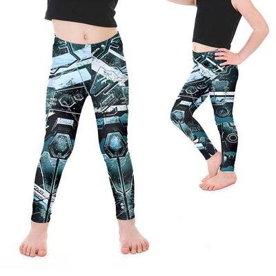KID'S MECH LEGGINGS