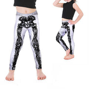KID'S SKELETON LEGGINGS