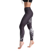LOTUSXLITE WHITE TREE LEGGINGS