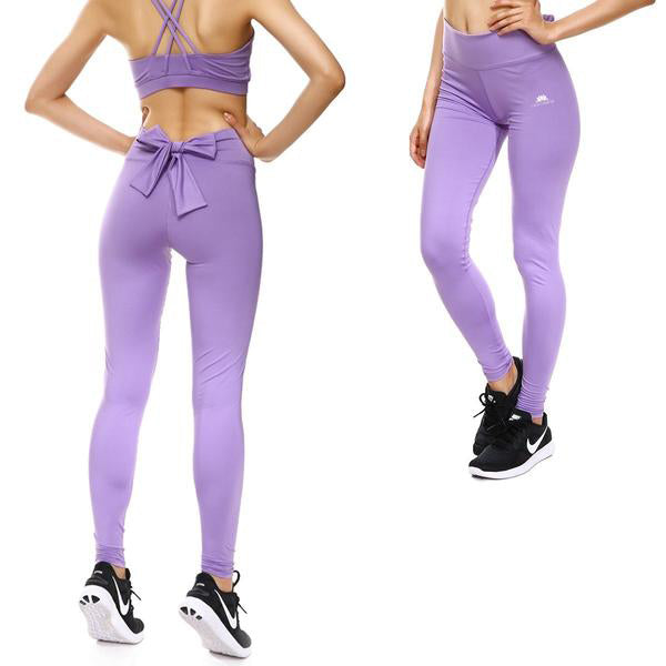 LAVENDER BOW SPORTS SET