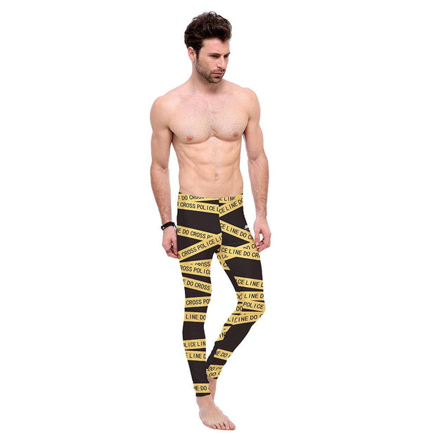 CAUTION TAPE LEGGINGS