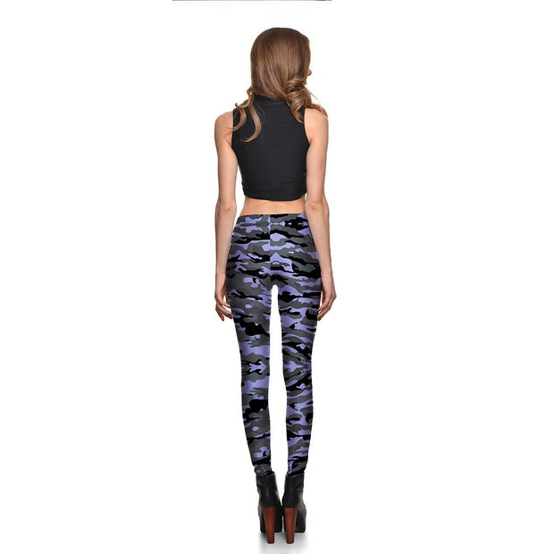 Misty Camo Leggings - Lotus Leggings