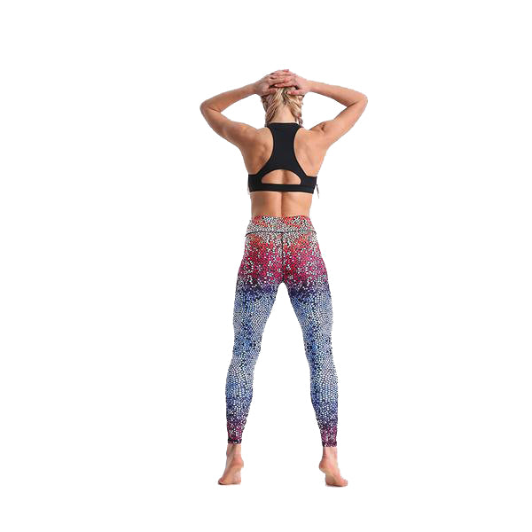 LOTUSXLITE RAINBOW MOSAIC LEGGINGS