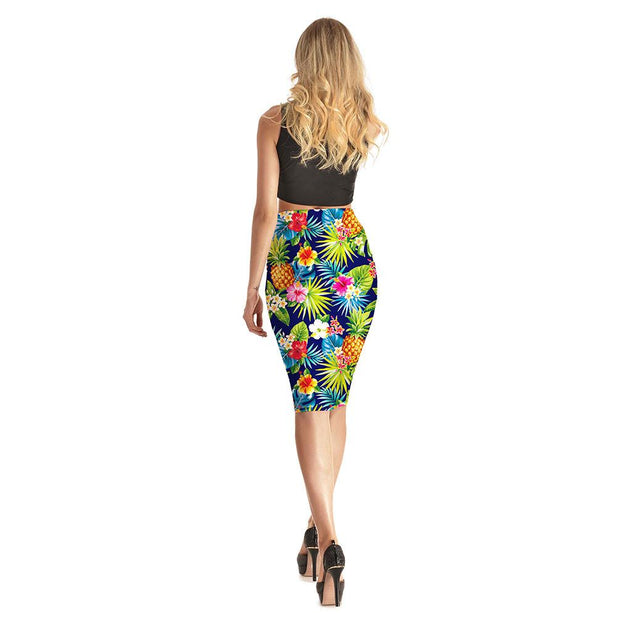 Into the Tropics Long Skirt - Lotus Leggings