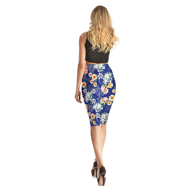 Flowery Flowers Long Skirt - Lotus Leggings