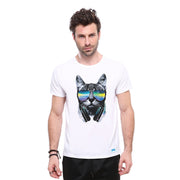 Chillin' with Beat Cat T-shirt - Lotus Leggings