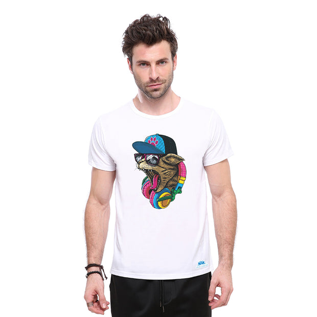 Hiphop Cat T-shirt - Lotus Leggings
