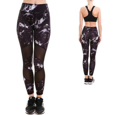 MIDNIGHT MARBLE MAXFLO LEGGINGS