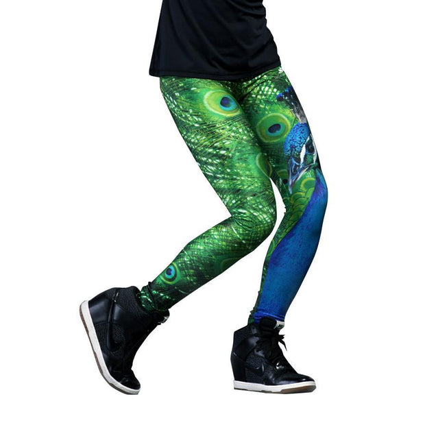 PEACOCK LEGGINGS