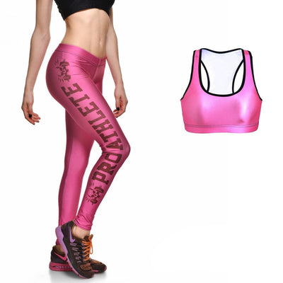 Pro Pink Full Athletic Set - Lotus Leggings