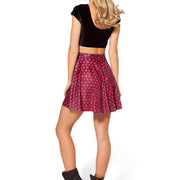REGAL DRAGON EGG SKATER SKIRT