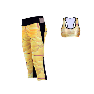 SWEET BANANAS ATHLETIC SET - Lotus Leggings