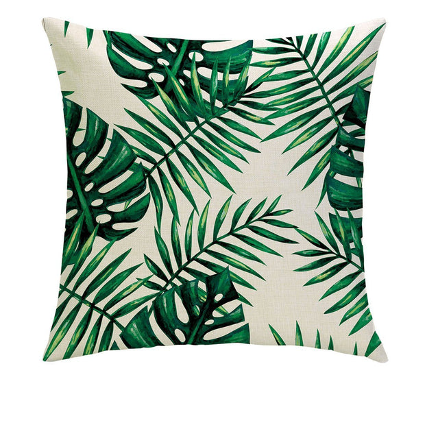 So Leafy Pillow Cover - Lotus Leggings