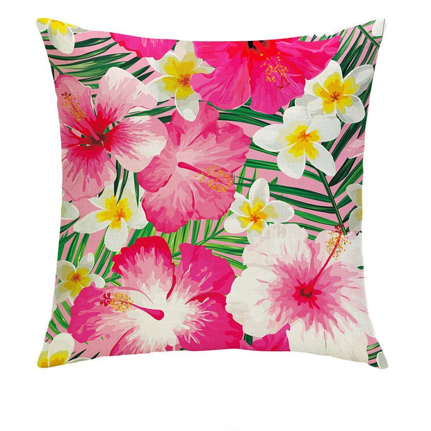 Summertime Pink Pillow Cover - Lotus Leggings