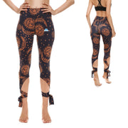 Sun and Moon Tie-Up Leggings - Lotus Leggings