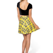TARTAN SKATER SKIRT - Lotus Leggings
