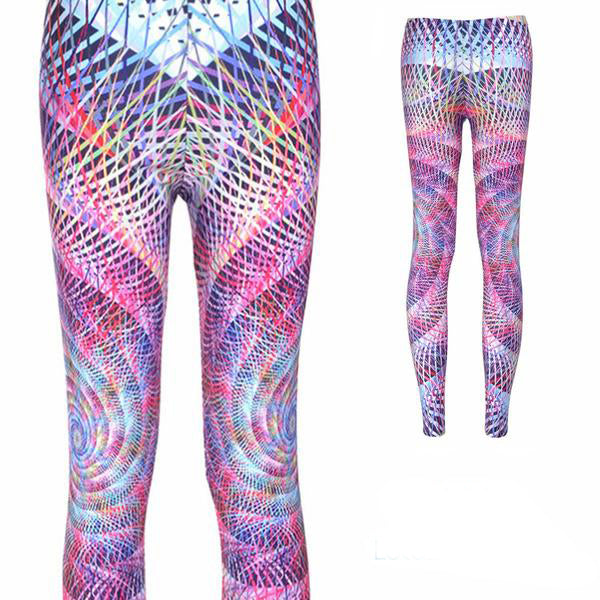 TWISTED CIRCLES LEGGINGS