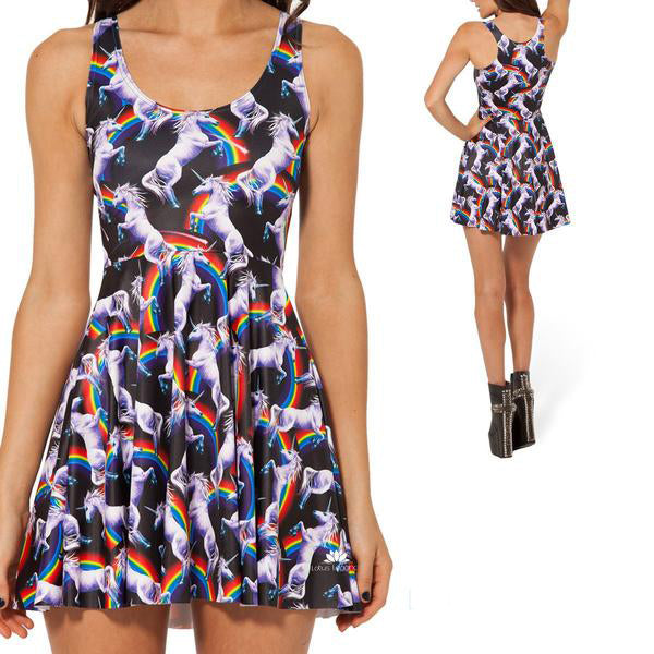 UNICORN SKATER DRESS
