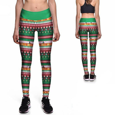 UNDER THE TREE ATHLETIC LEGGINGS