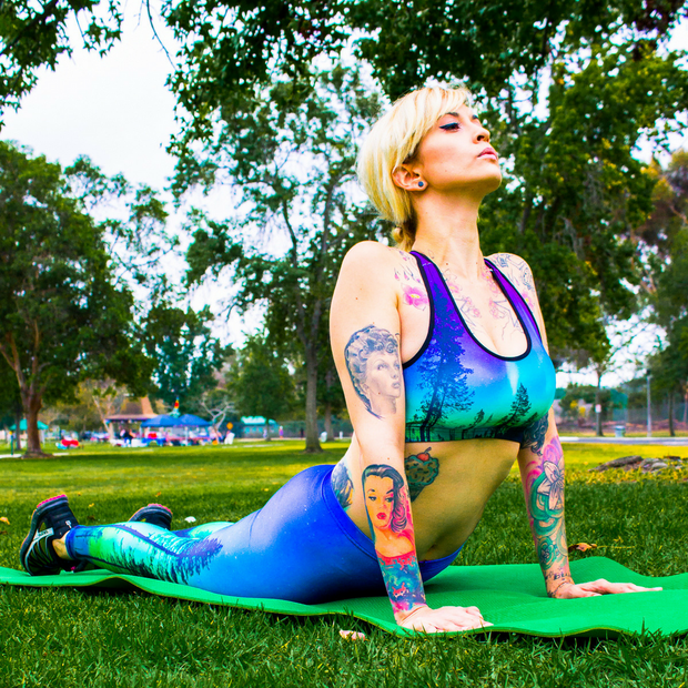 ENCHANTED FULL ATHLETIC SET - Lotus Leggings