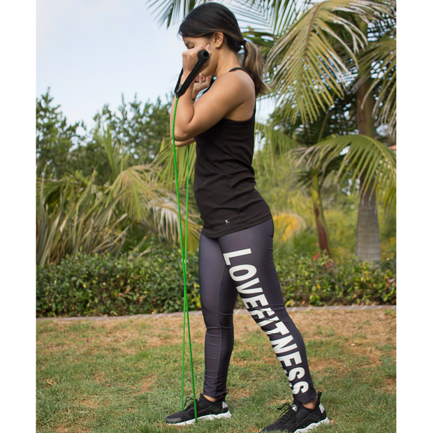 LOVE FITNESS LEGGINGS - Lotus Leggings