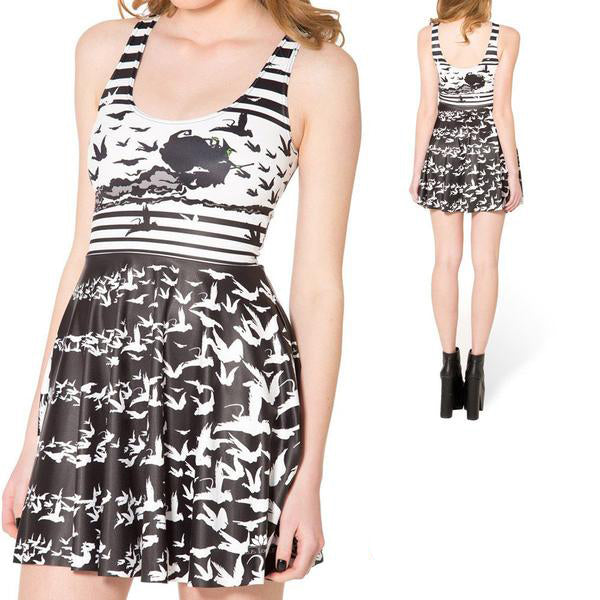 WICKED WITCH OF THE WEST SKATER DRESS