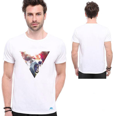 WOLF ON RAGE T-SHIRT