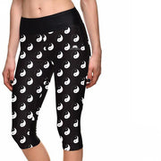 YIN YANG ATHLETIC CAPRI