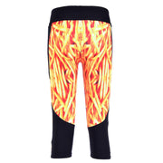 YUMMY FRIES ATHLETIC CAPRI - Lotus Leggings