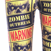 ZOMBIE OUTBREAK LEGGINGS - Lotus Leggings