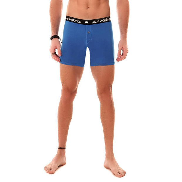 LOTUS LEGGINGS LOTUS BLUE MEN'S BOXER