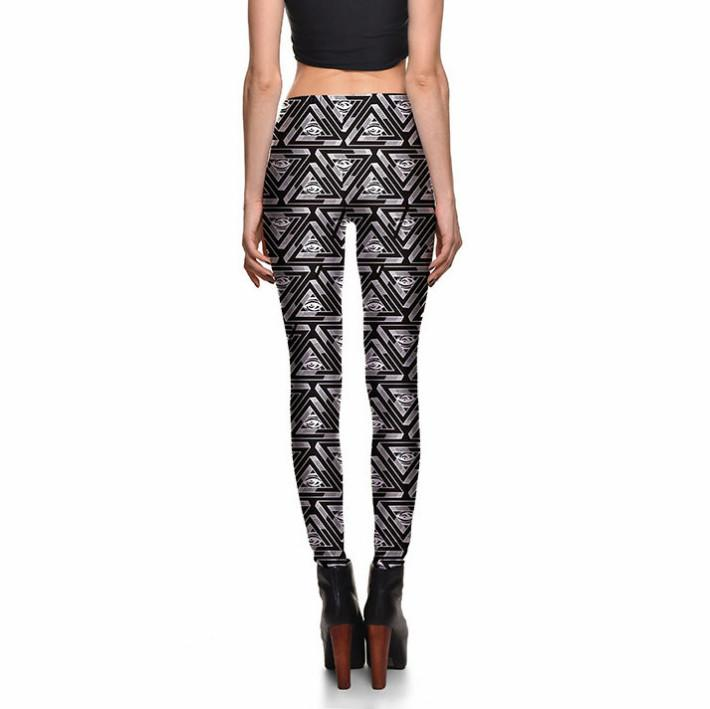EYE SEE YOU LEGGINGS - Lotus Leggings