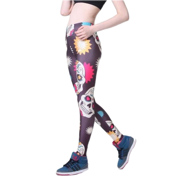 COLORFUL SKULLS LEGGINGS