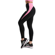 PINK VS. BLACK RACER LEGGINGS