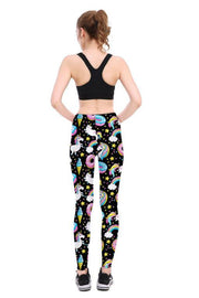Space Unicorn Leggings - Lotus Leggings